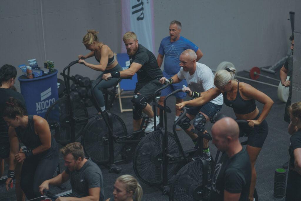 Assault bike workouts